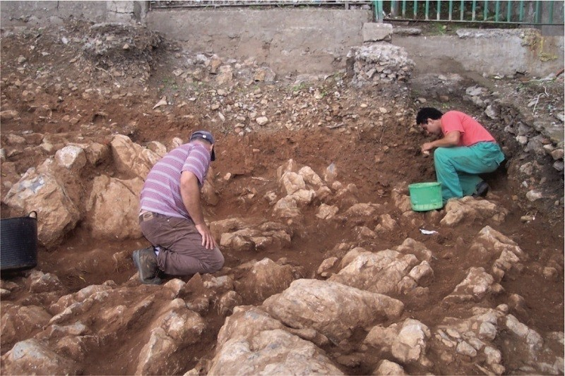Excavations at Gate of Granada