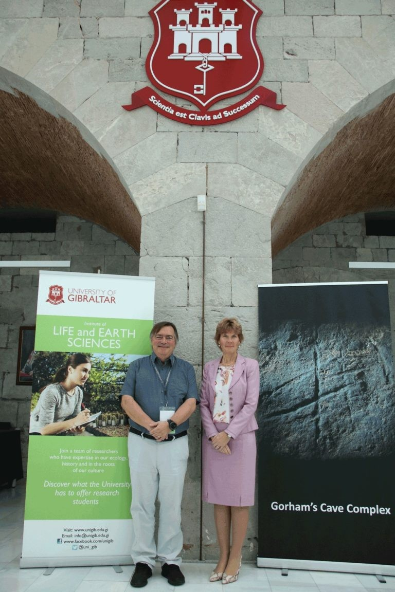 Prof Clive Finlayson appointed Beacon Professor of the University of Gibraltar Image