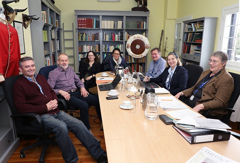 Annual Meeting of the Gorham's Cave Complex UNESCO World Heritage Site International Research and Conservation Committee Image