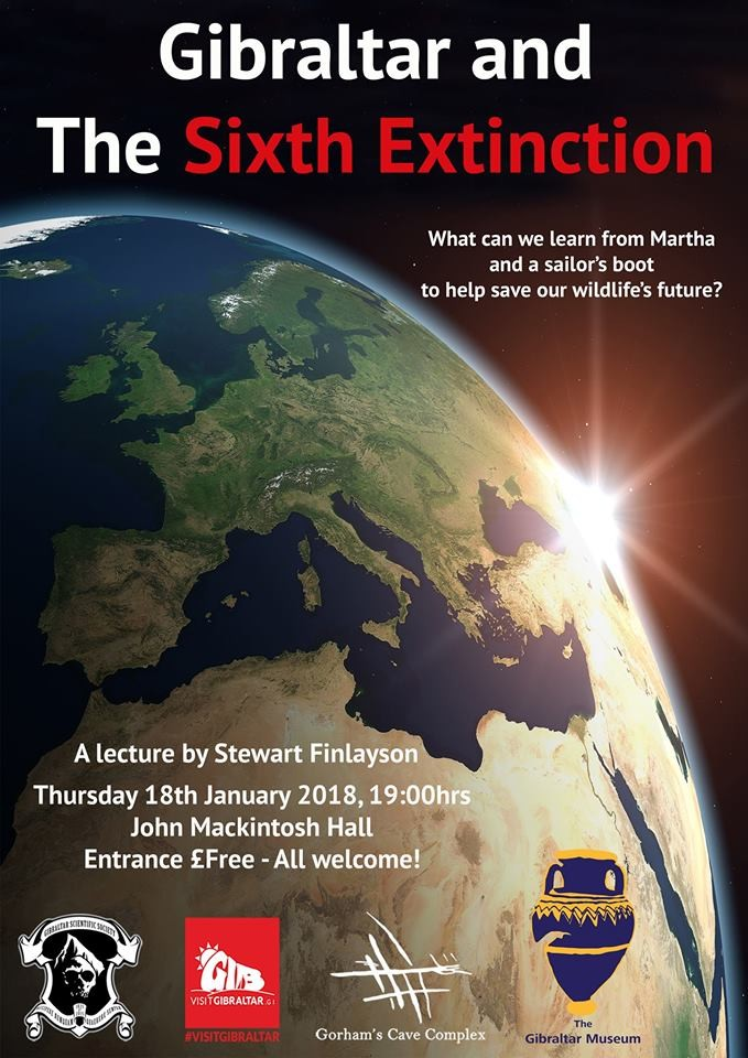 Museum Lecture Series: Gibraltar and the Sixth Extinction Image