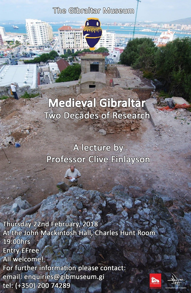 Museum Lecture Series: Medieval Gibraltar – Two Decades of Research Image